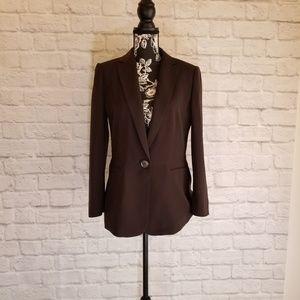 Calvin Klein Chocolate Brown Blazer